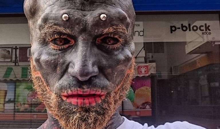 """10 Unsettling Facts Anthony Loffredo, Who Transformed Himself Into A """"Black Alien"""""""